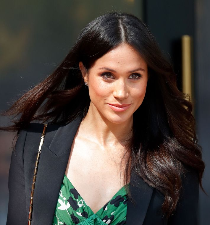 Is This A Part Of Meghan Markle's Wedding-Day Hair Plan?