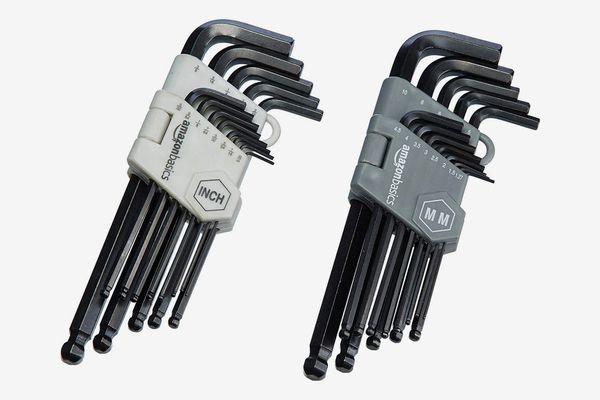 AmazonBasics Hex Key Allen Wrench Set
