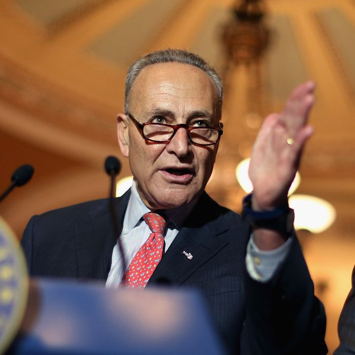 Senate Democrats And Republicans Hold Weekly Policy Luncheons