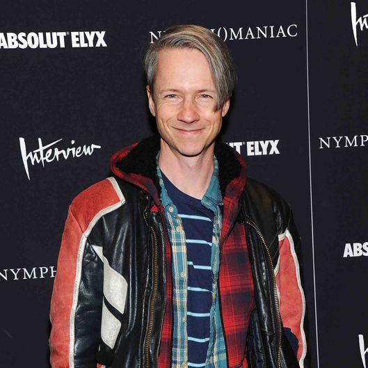 "NEW YORK, NY - MARCH 13:  Director/actor John Cameron Mitchell attends the ""Nymphomaniac: Volume I"" New York screening at Museum of Modern Art on March 13, 2014 in New York City.  (Photo by Jamie McCarthy/Getty Images)"