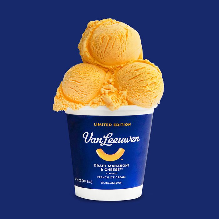 Well, Kraft Mac and Cheese Ice Cream Exists Now