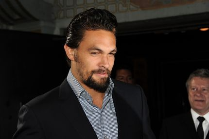 "Actor Jason Momoa arrives at the premiere of HBO's ""Game Of Thrones"" Season 3 at TCL Chinese Theatre on March 18, 2013 in Hollywood, California."