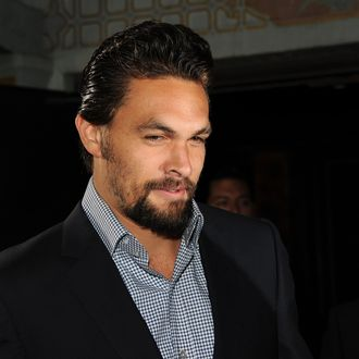Actor Jason Momoa arrives at the premiere of HBO's