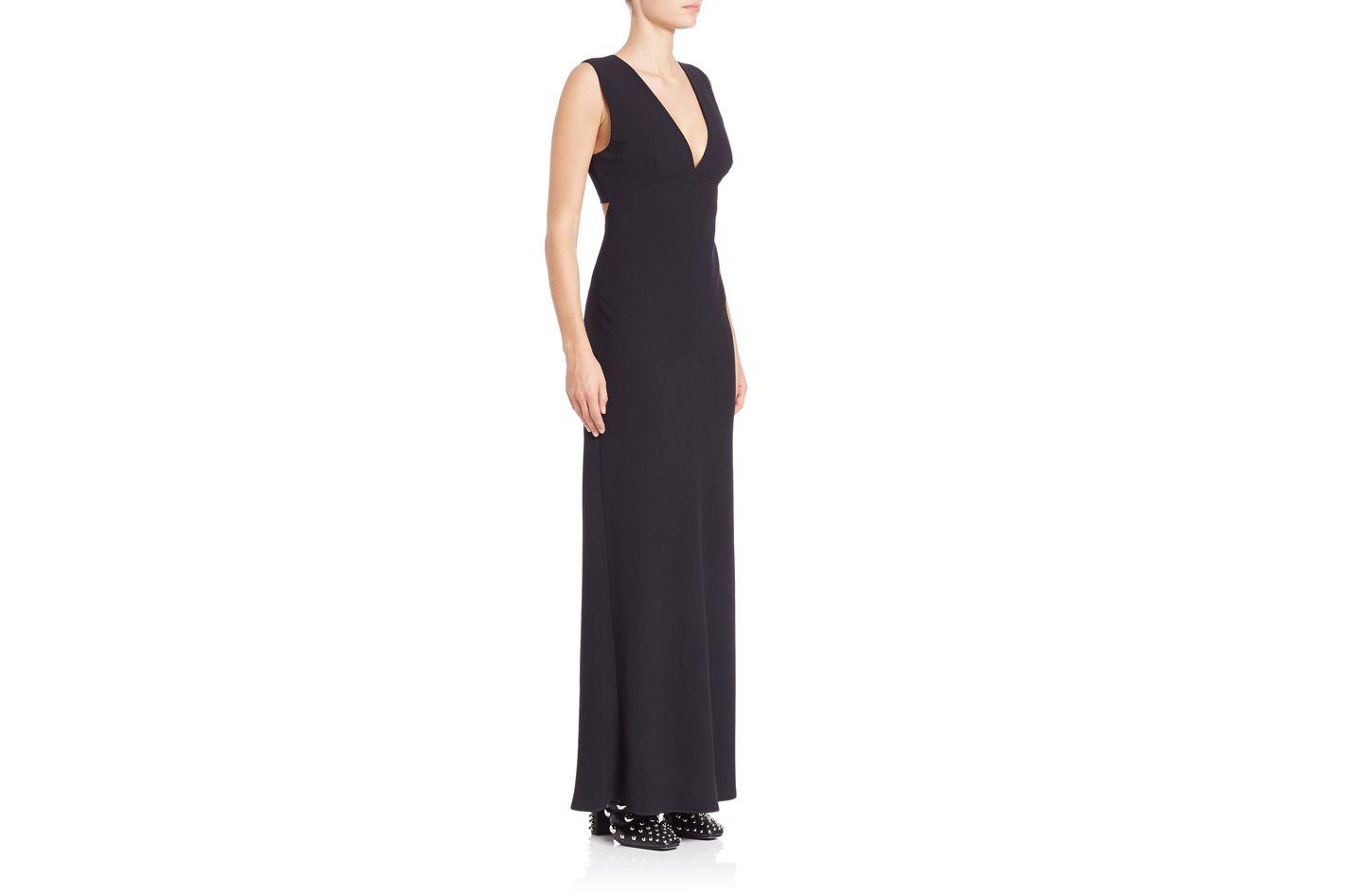 T by Alexander Wang Solid Sleeveless Maxi Dress