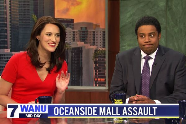 SNL's 'Mid-Day News' Turns Local Crime Reports Into a Fierce Competition