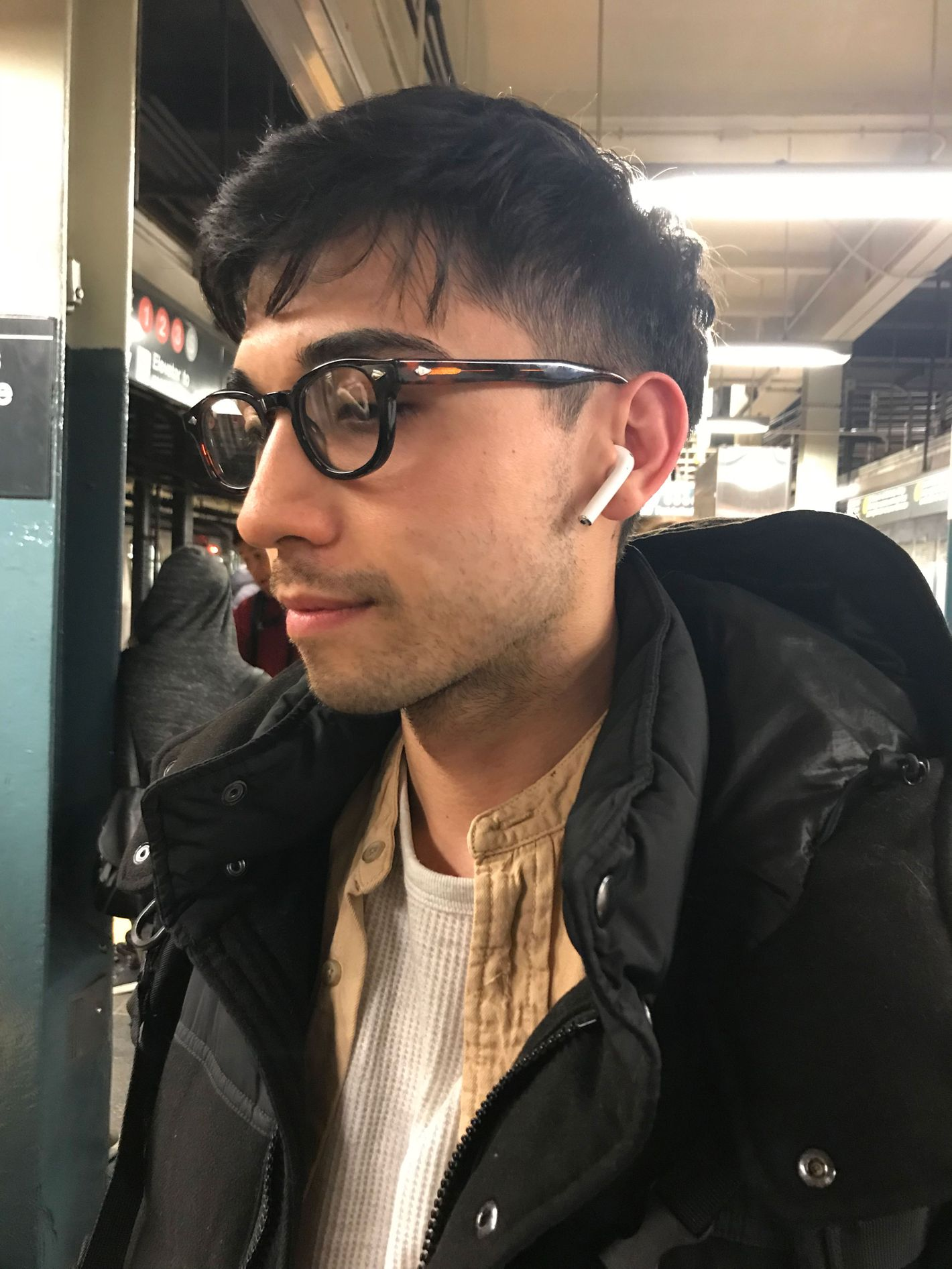 airpods pro people wearing them