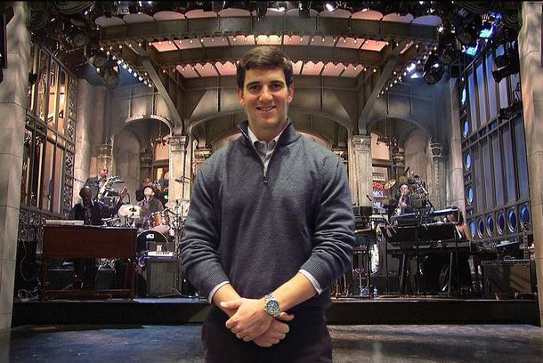What Kind of SNL Host Will Eli Manning Be? -- The Sports Section