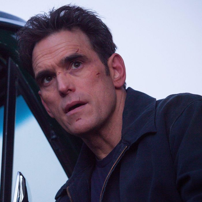WAYWARD PINES: Ethan (Matt Dillon) thinks he has found a way out of town in the