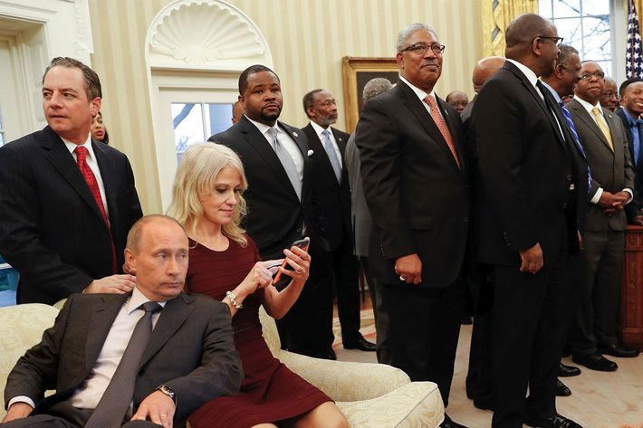 Kellyanne Conway Oval Office Couch Picture Photoshop Battle
