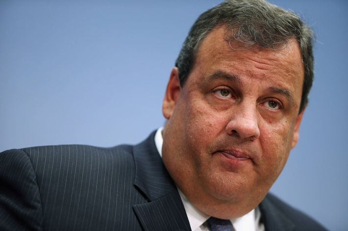 New Jersey Gov. Chris Christie delivers remarks and answers questions at the Brookings Institution, a non-partisan, public policy think tank, July 9, 2012 in Washington, DC.