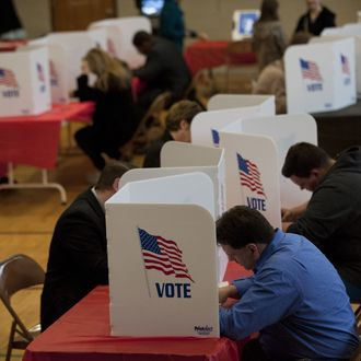 Ohio Voters Head To The Polls For The State's Primary