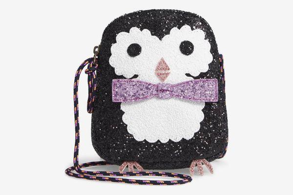 Crewcuts by J.Crew Glitter Penguin Bag