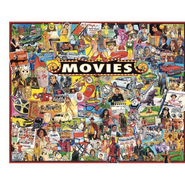 White Mountain Movies Puzzle