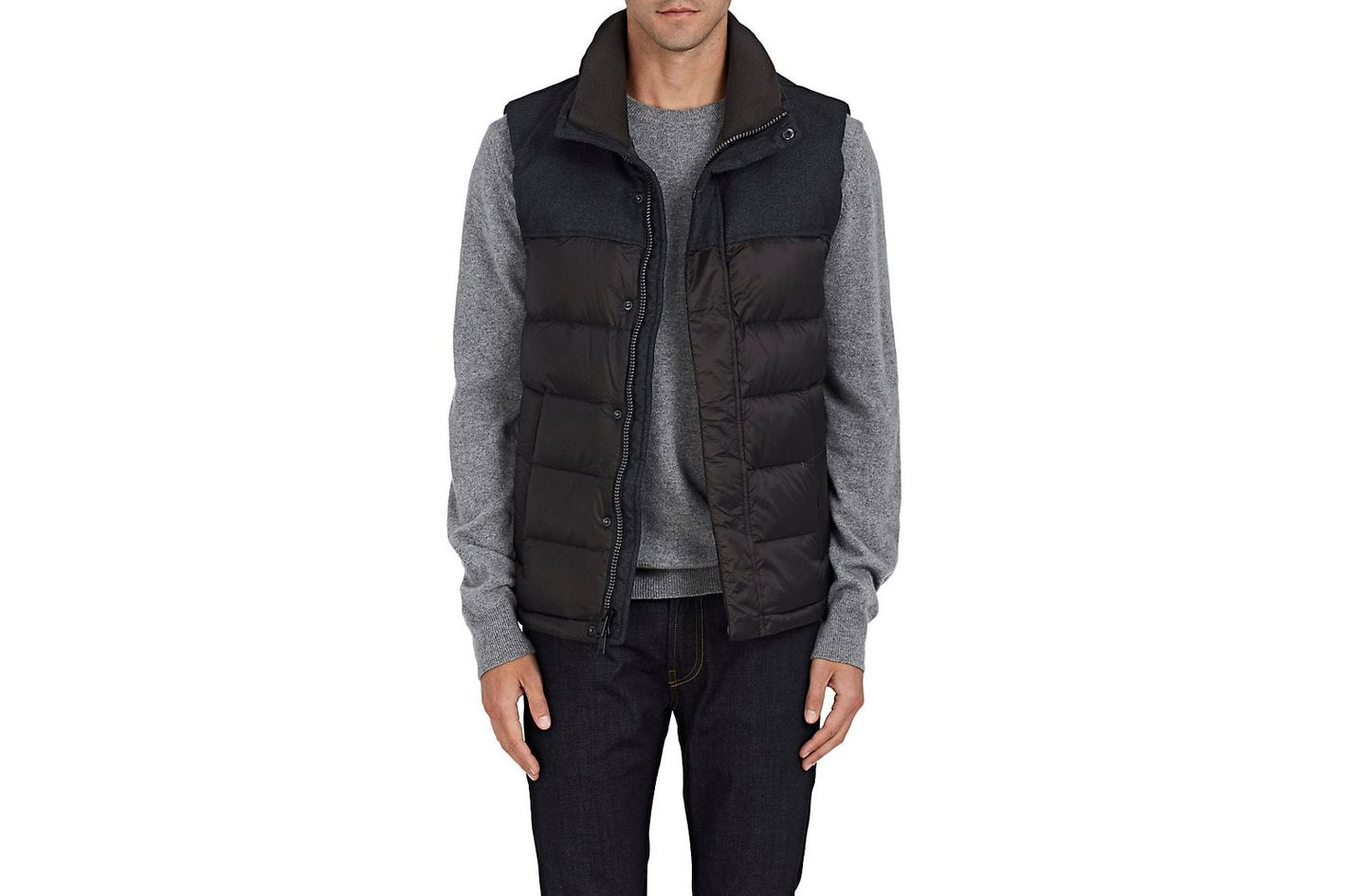 Heritage Down-Quilted Tech-Fabric Vest