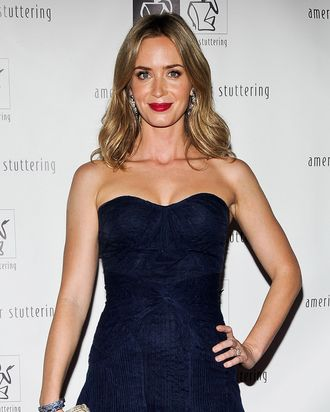 Emily Blunt attends the 7th Annual