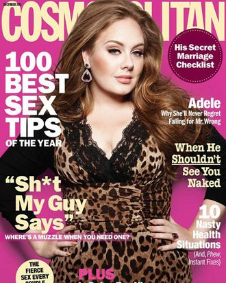 The 'Cosmo' cover in question.