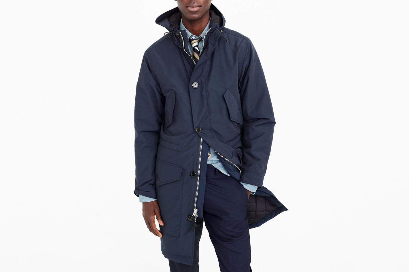 J.Crew Hooded Snorkel Jacket