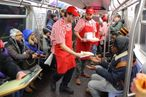 This Surprise Pizza Party Is Probably the Best Thing That Could Possibly Happen on the Subway