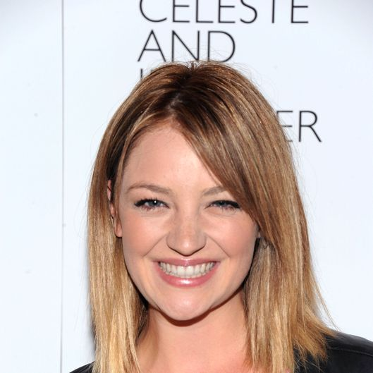 "Actress Abby Elliott attends the ""Celeste And Jessie"" New York Premiere at Sunshine Landmark on August 1, 2012 in New York City."
