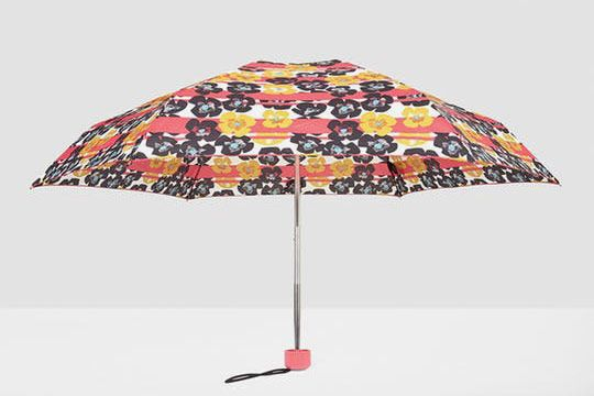 Hunter Original Floral Stripe Mini Compact Umbrella
