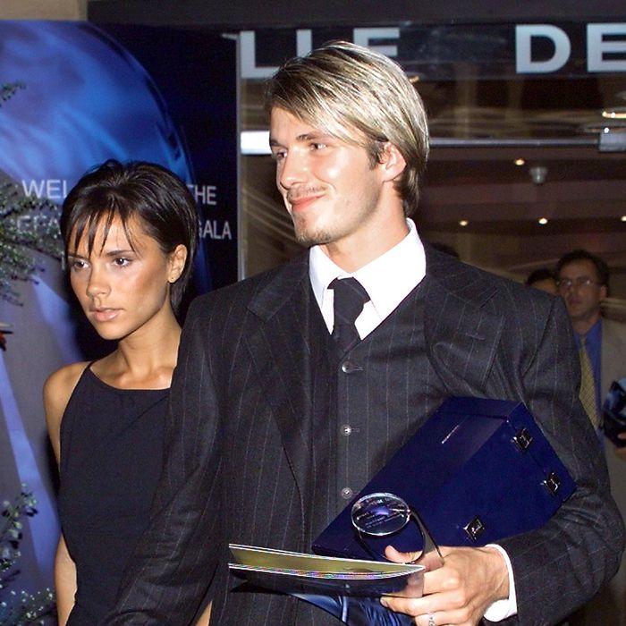 The Beckhams' wedding crown.