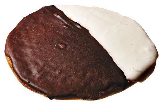"Black-and-white cookies are everywhere, including Starbucks. What's harder to find is one that tastes fresh, with a tender crumb and icing that's flavorful but not cloyingly sweet. <a href=""http://nymag.com/listings/stores/glasers_bake_shop/"">Glaser's Bake Shop</a>, owned by the same family since 1902, has a high enough turnover and small enough production that its cookies—drop cakes, technically—stand out ($2.25; 1670 First Ave., nr. 87th St.; 212-289-2562). <b><i></i></b>  <b><i>Status: Vulnerable</i></b>"