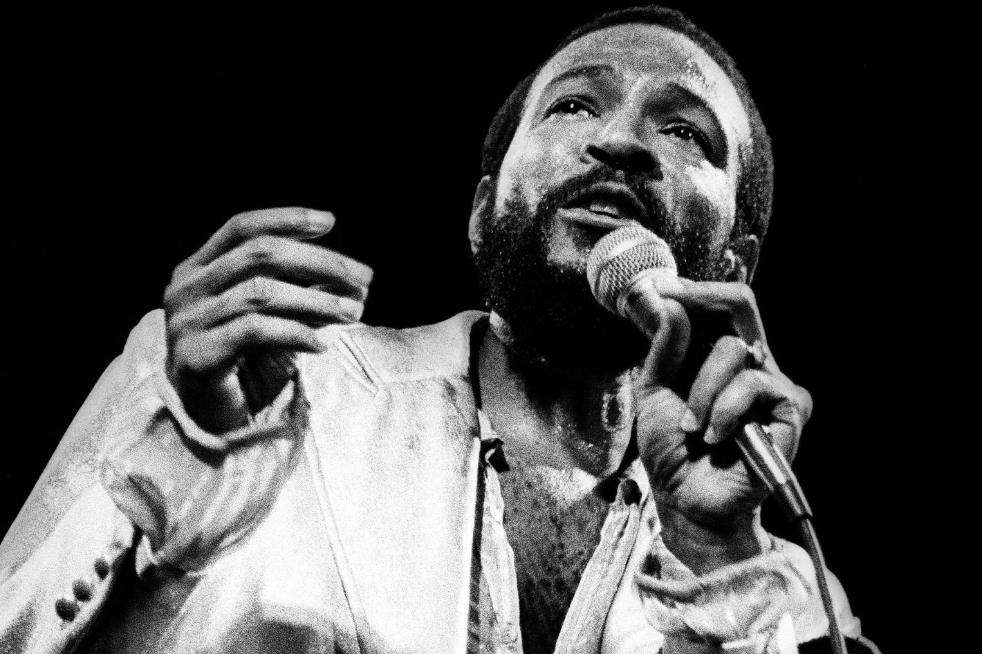 Jamie Foxx Is Making an Authorized Limited Series About Marvin Gaye