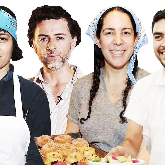 Camille Becerra, Fernando Aciar, Fany Gerson, and Gerardo Gonzalez.