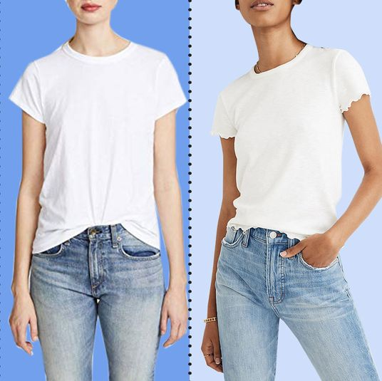 7b2db5bbb1 The 16 Best White T-shirts for Women 2019
