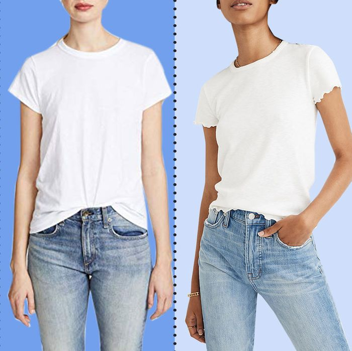 09e29766 The 17 Best White T-shirts for Women 2019