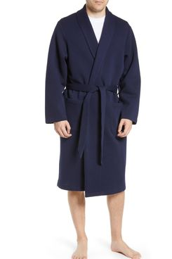 Nordstrom Men's Piqué Robe