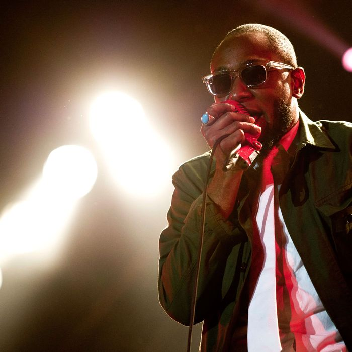 US musician Yassin Bey aka Mos Def performs during the OpenAir music festival in Frauenfeld, Switzerland, 07 July 2012. The 18th OpenAir Frauenfeld takes place from 06 to 08 July.