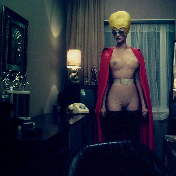 Linda Evangelista, shot by Steven Klein.