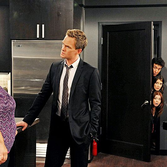 How I Met Your Mother Recap Trapped In The Closet
