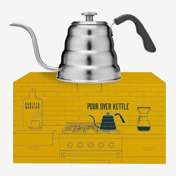 Barista Warrior Stainless-Steel Pour-Over Coffee & Tea Kettle