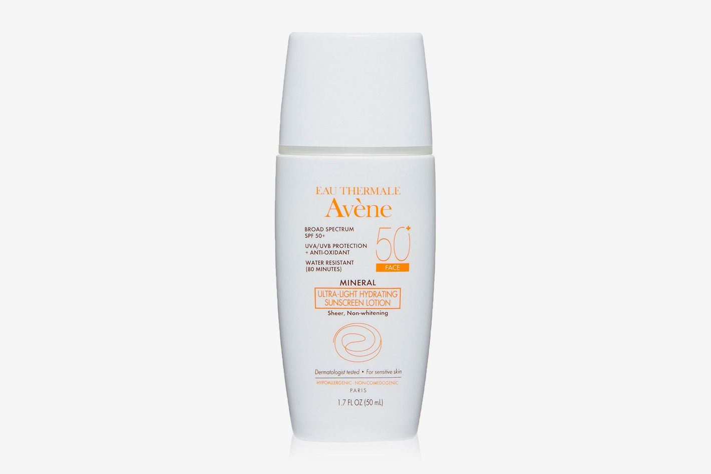 Avene Mineral Light Hydrating Sunscreen Lotion SPF 50+