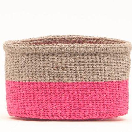Maliza Block Woven Basket