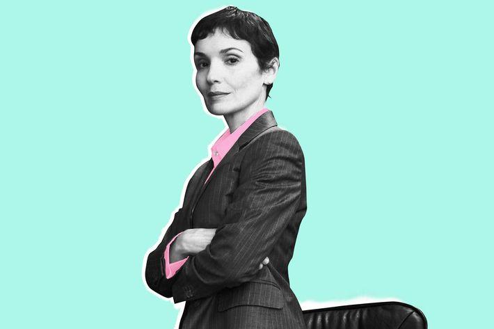 Portrait of a businesswoman in office