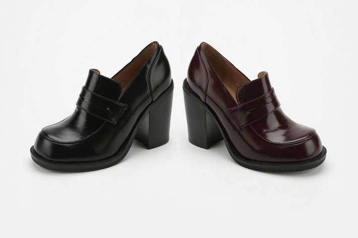 Excellent Cut Chat: Reminiscing About Nineties Heeled Loafers, Now Back in  JD87