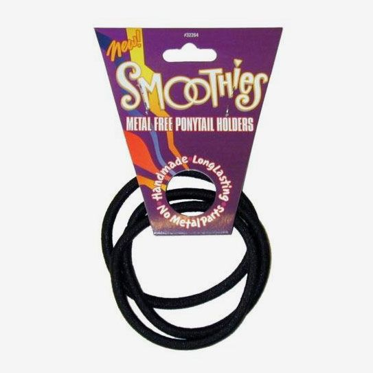 Smoothies Metal-Free Ponytail Holders