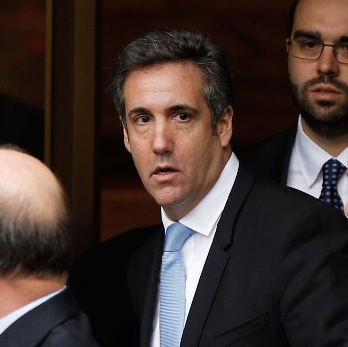 Image result for michael cohen sweating pictures