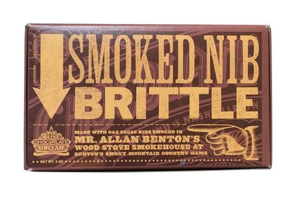 Olive & Sinclair Smoked Nib Brittle