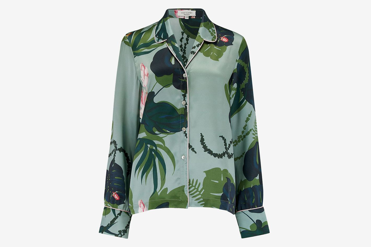 Violet & Wren Botanist Pajama Top