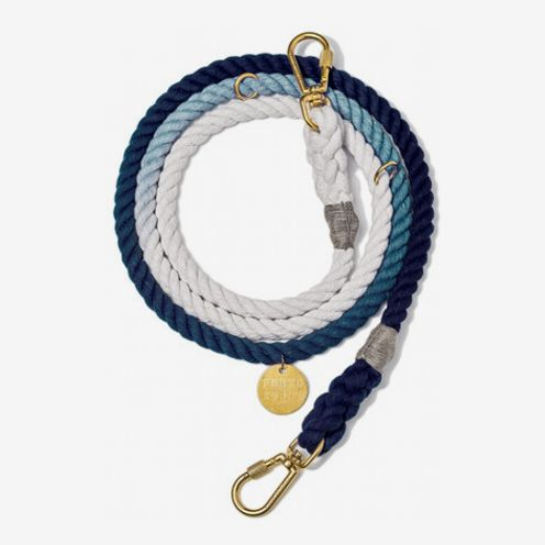 Found My Animal Adjustable Ombré Rope Dog Leash, 7 Ft.