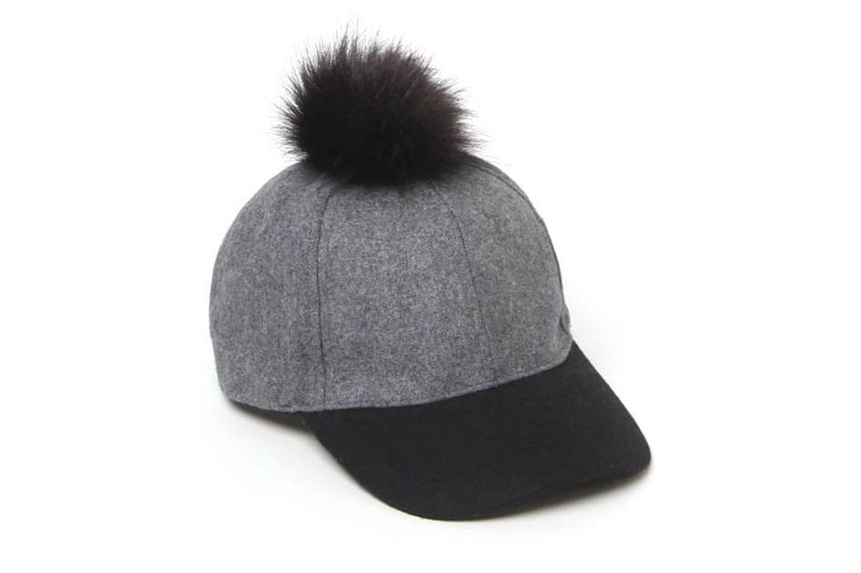 LA Hearts Wool Pom-Pom Cap
