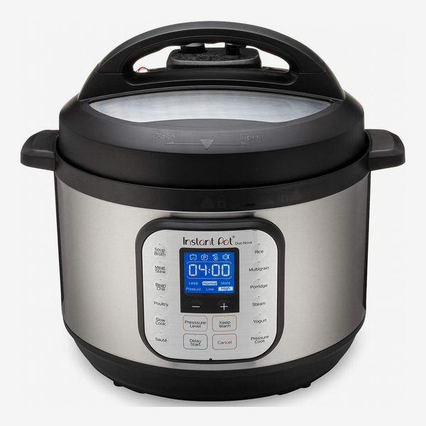 Instant Pot Duo Nova One Touch Pressure Cooker 7 in 1, 10 Qt