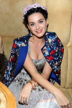 "Katy Perry attends the the pre-Met Ball special screening of ""The Great Gatsby"" after-party at The Top of The Standard on May 5, 2013 in New York City."
