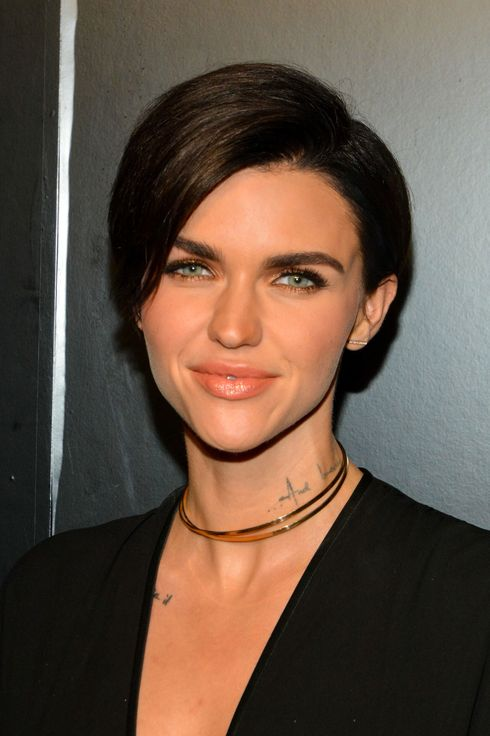 Surprising Ruby Rose Is Mystified By People With No Tattoos Hairstyles For Men Maxibearus