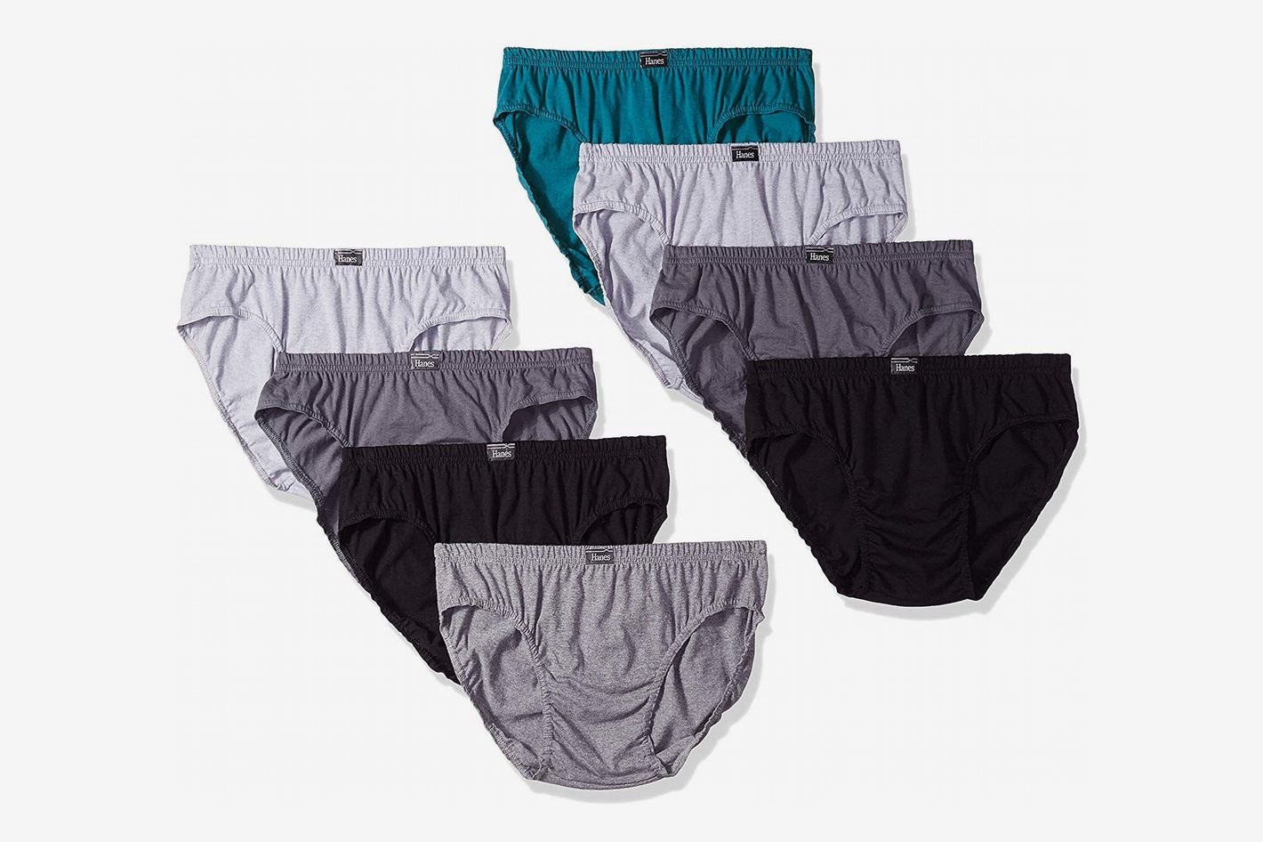 Hanes Men's 8-Pack X-Temp Low Rise Sport Briefs