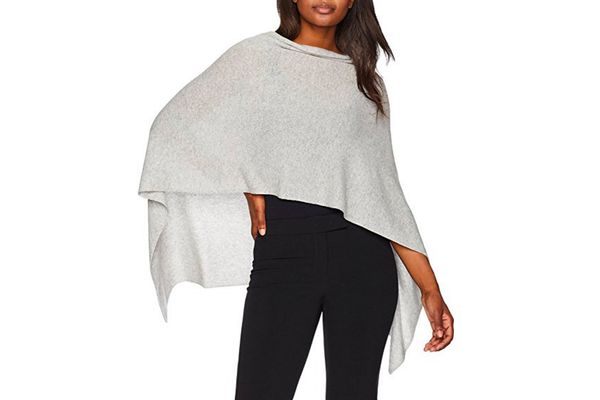 Lark & Ro Women's 100% Cashmere Topper Sweater